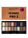 Makeup Revolution London - Paleta farduri de pleoape Iconic Pro 2, 16 culori - Incolor