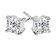 Diamond Style - Cercei Diamond Style PRINCESSEARR - Argintiu