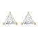 Diamond Style - Cercei Diamond Style PRISMEARRGOLD - Argintiu