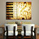 Horizon - Tablou decorativ pe panza Horizon, 237HRZ5292, 70 x 100 cm, panza - Multicolor