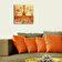 Home Art - Ceas decorativ de perete din lemn Home Art, 238HMA3156, 40 x 40 cm, MDF - Multicolor