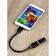 Hama - Cablu OTG adaptor USB 2.0 Hama 178258, 15 cm, micro-B, negru - Negru