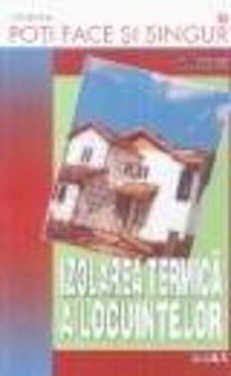 Coperta Carte Izolarea termica a locuintelor