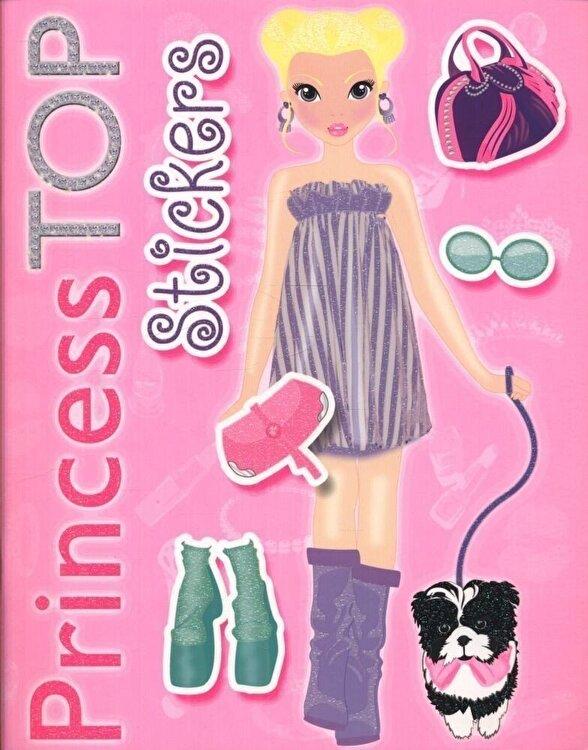 Coperta Carte Princess TOP- Stickers