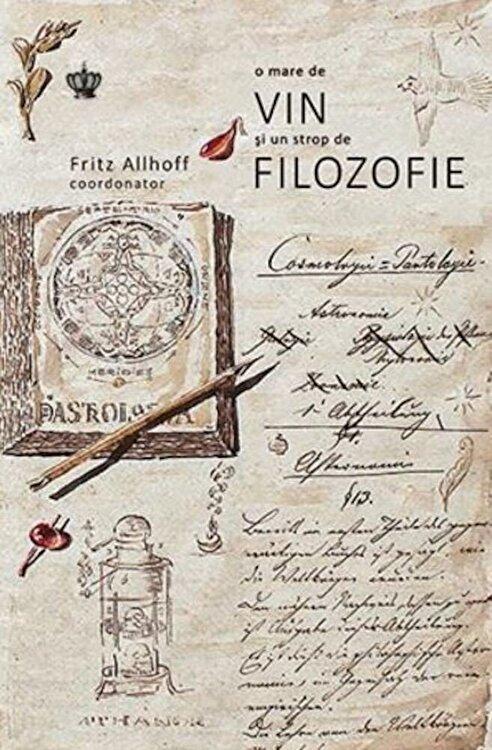 Coperta Carte O mare de vin si un strop de filozofie