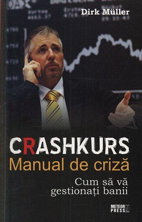 Coperta Carte Crashkurs. Manual de criza