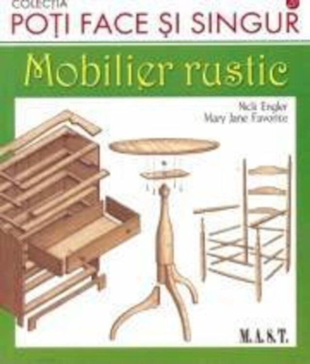 Coperta Carte Mobilier rustic