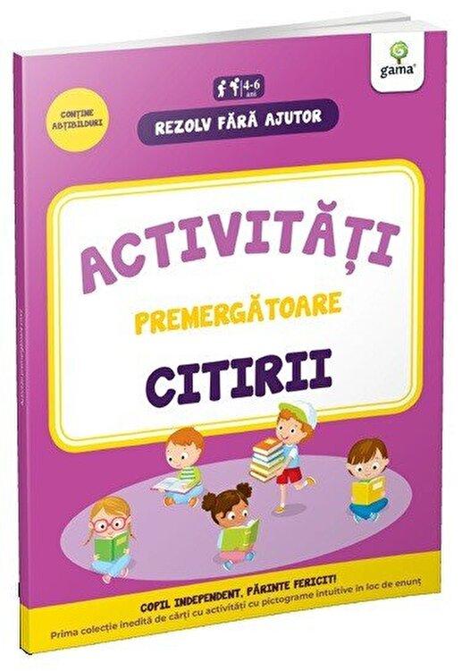 Coperta Carte Activitati premergatoare citirii 4-5 ani
