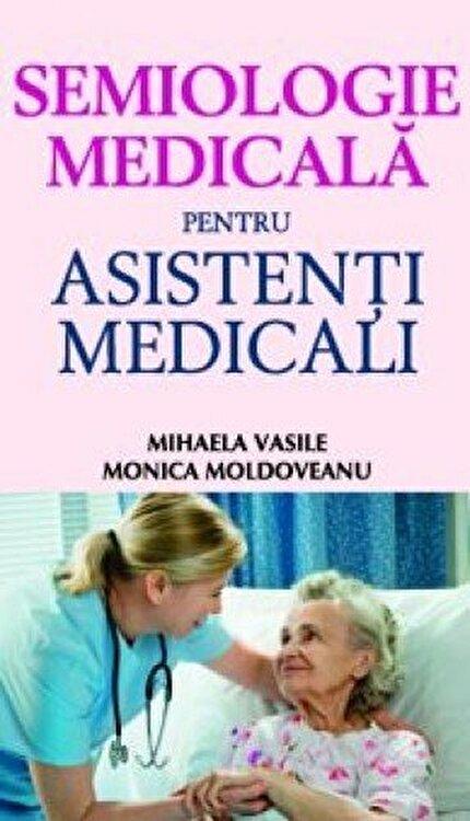 Coperta Carte Semiologie medicala pentru asistenti medicali