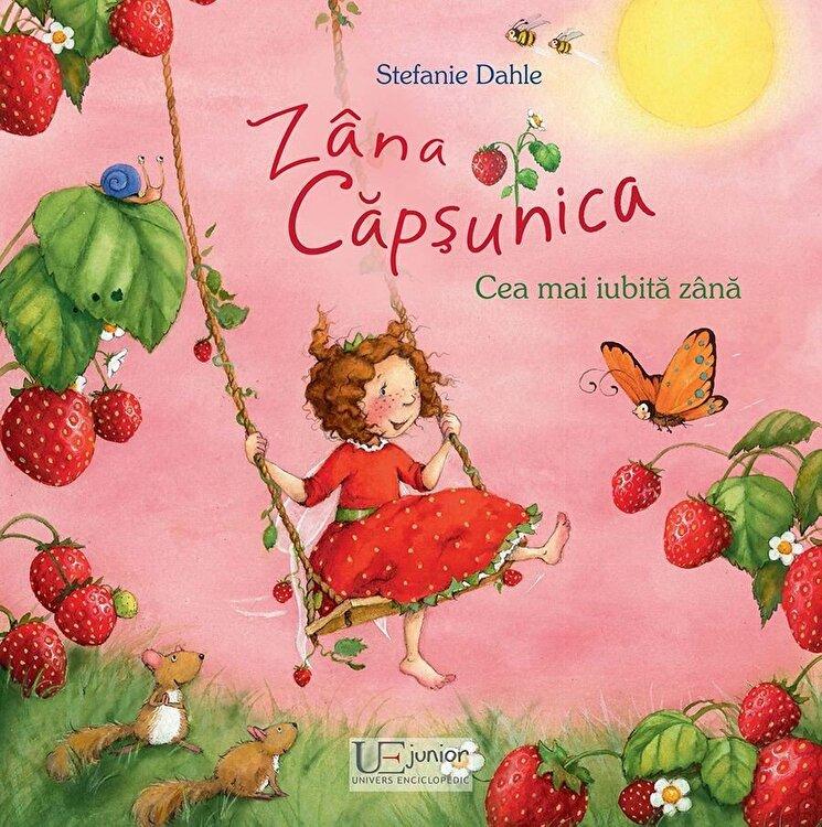 Coperta Carte Zana Capsunica. Cea mai iubita zana