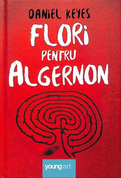 Coperta Carte Flori pentru Algernon