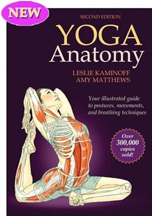 Yoga Anatomy Paperback