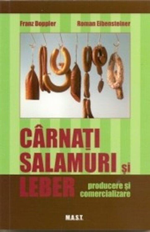 Coperta Carte Carnati, salamuri si lebar