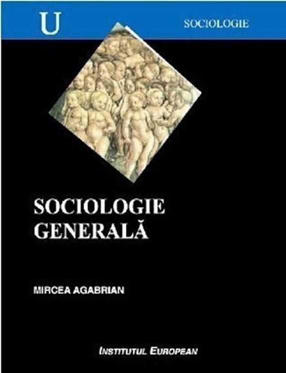 Coperta Carte Sociologie generala