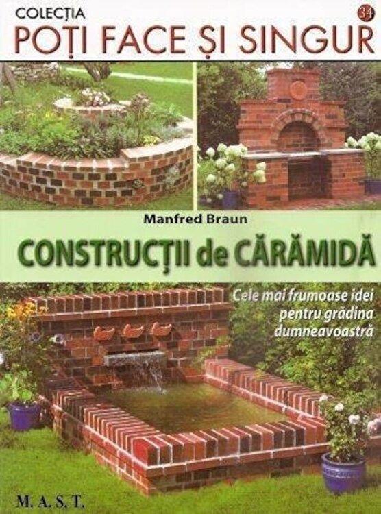 Coperta Carte Constructii de caramida