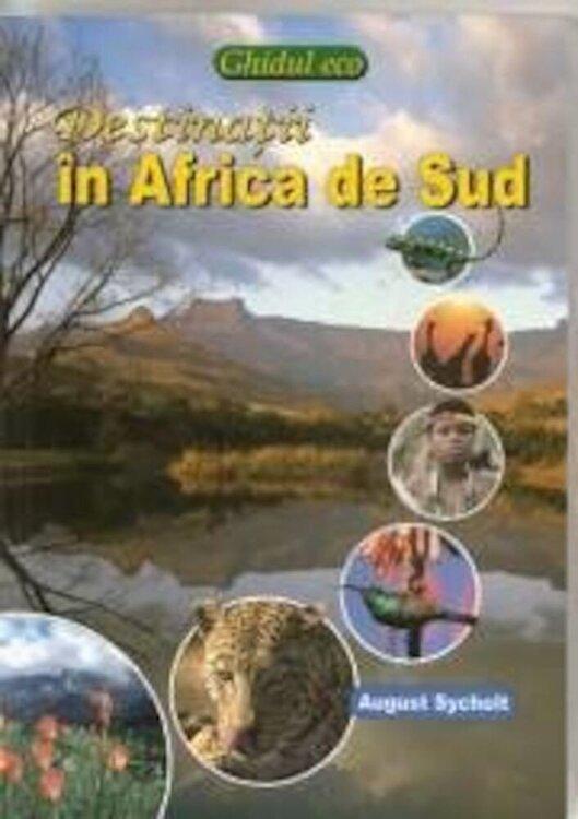 Coperta Carte Destinatii in Africa de Sud. Ecoghid