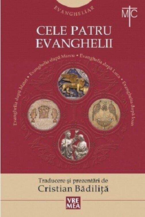 Coperta Carte Evangheliar. Cele patru Evanghelii