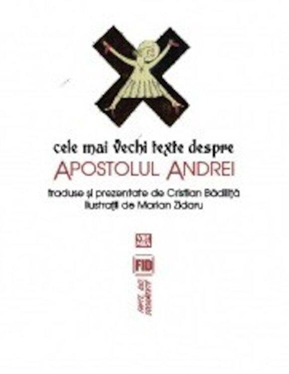 Coperta Carte Cele mai vechi texte despre Apostolul Andrei