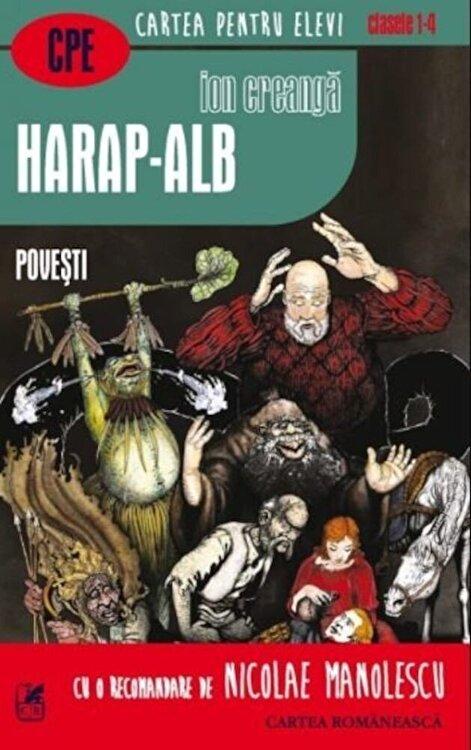 Coperta Carte Harap-Alb. Povesti