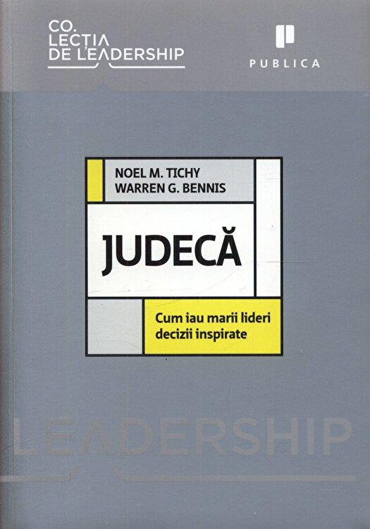 Coperta Carte Judeca. Cum iau marii lideri decizii inspirate