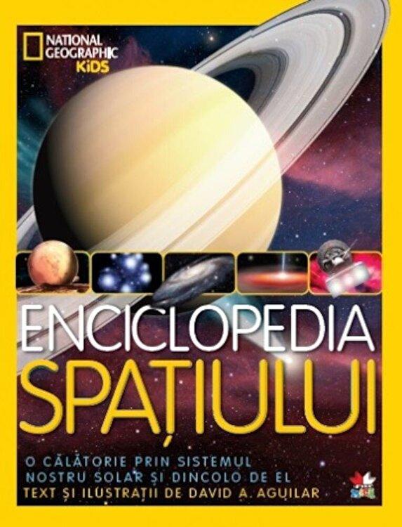 Coperta Carte Enciclopedia Spatiului. National Geographic