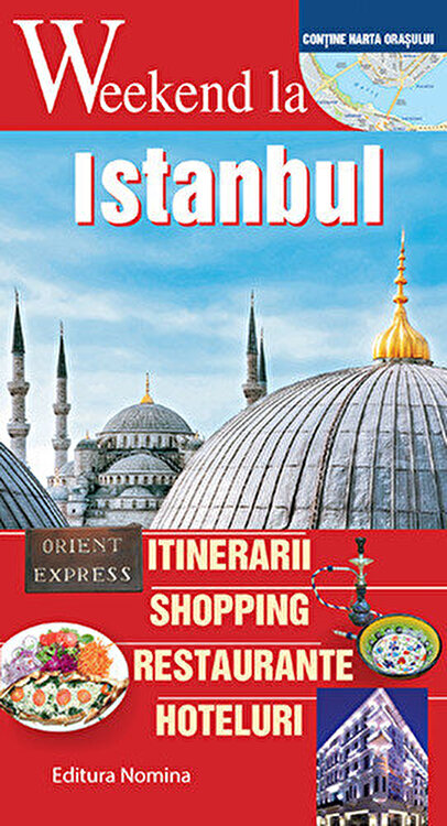 Coperta Carte Weekend la Istanbul