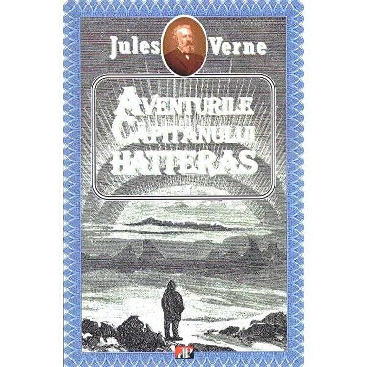 Coperta Carte Aventurile capitanului Hatteras