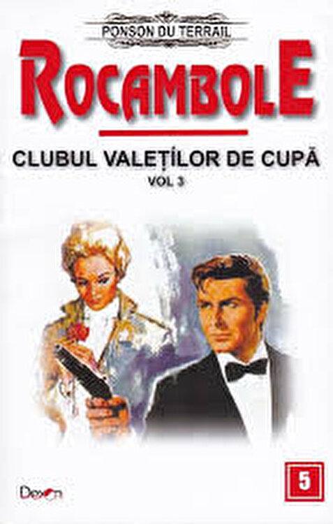 Coperta Carte Rocambole 5 - Clubul valetilor de cupa vol 3