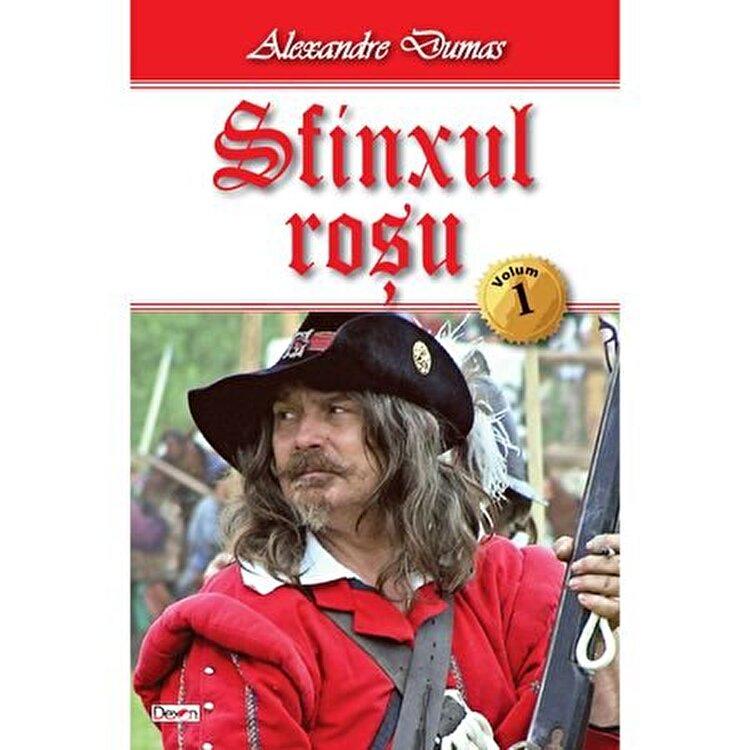 Coperta Carte Sfinxul rosu vol 1