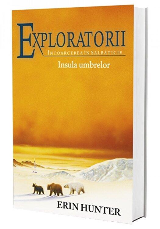 Coperta Carte Exploratorii - Intoarcerea in salbaticie. Cartea a VII-a: Insula umbrelor
