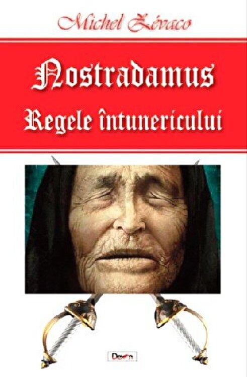 Coperta Carte Nostradamus regele intunericului