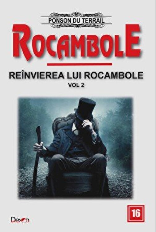 Coperta Carte Rocambole 16 - Reinvierea lui Rocambole 2