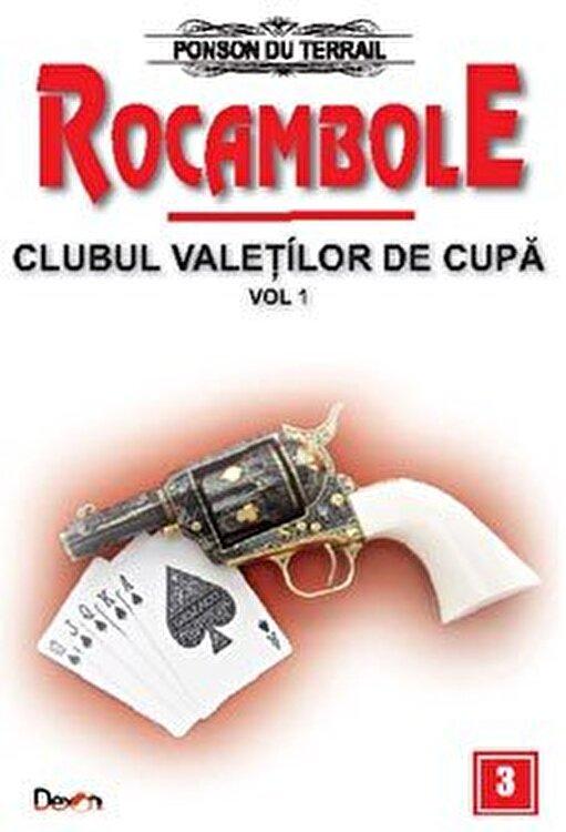 Coperta Carte Rocambole 3 - Clubul valetilor de cupa vol 1