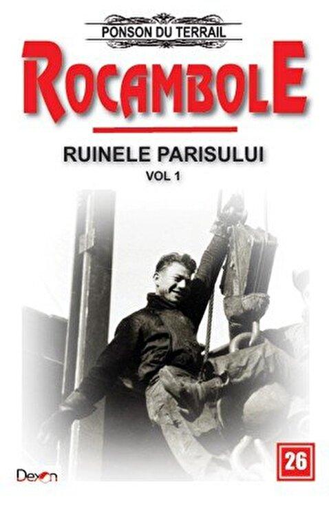 Coperta Carte Rocambole 26 - Ruinele Parisului 1/2 - Amorul zidarului