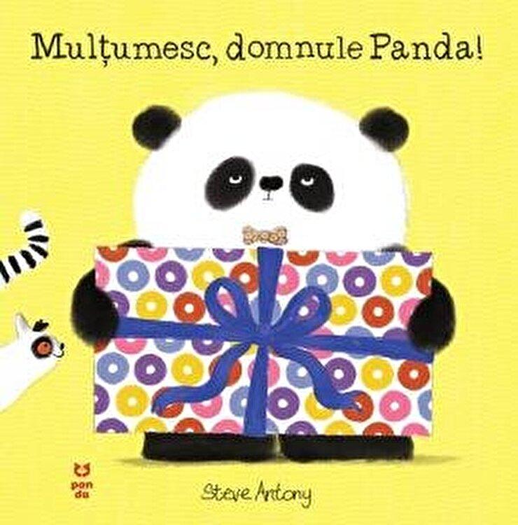 Coperta Carte Multumesc, domnule Panda