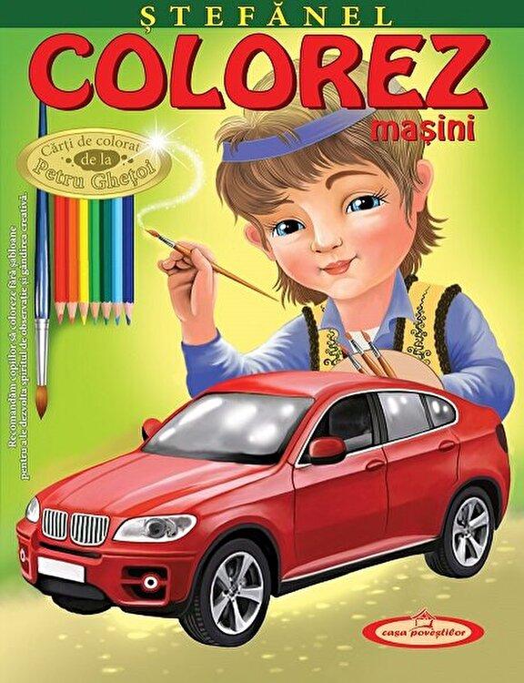 Coperta Carte Stefanel. Colorez masini