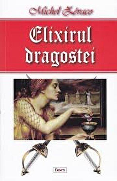Coperta Carte Elixirul dragostei