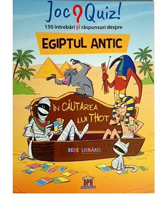 Coperta Carte Egiptul Antic - 150 de intrebari si raspunsuri