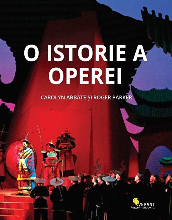 Coperta Carte O istorie a operei.