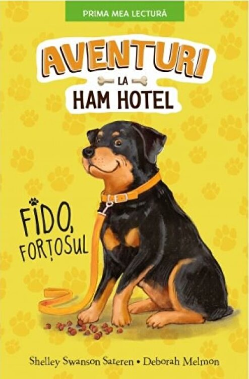 Coperta Carte Aventuri la Ham Hotel. Fido, fortosul