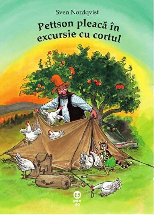 Coperta Carte Pettson pleaca in excursie cu cortul