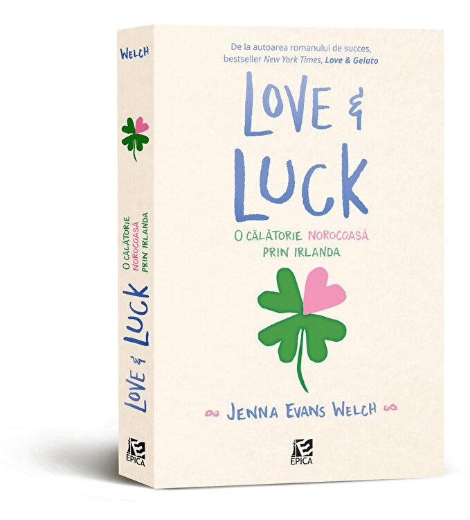 Coperta Carte Love and Luck. O calatorie norocoasa prin Irlanda
