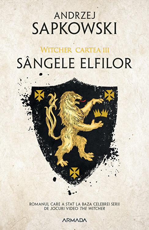 Coperta Carte Sangele elfilor ed. 2019
