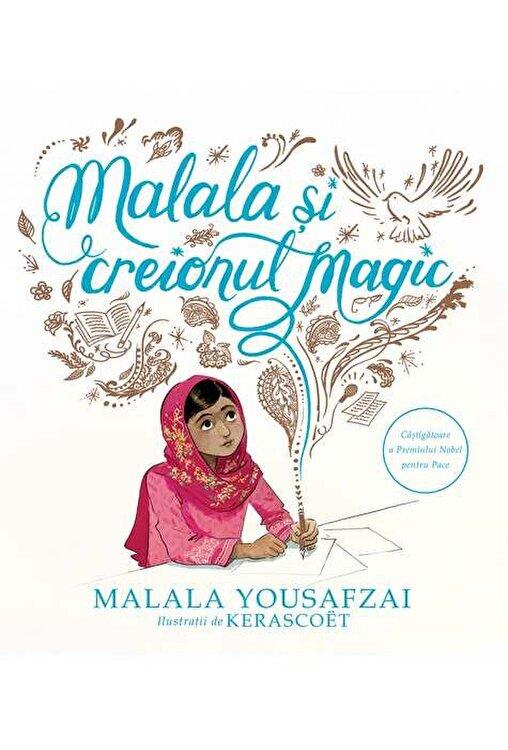 Coperta Carte Malala si creionul magic