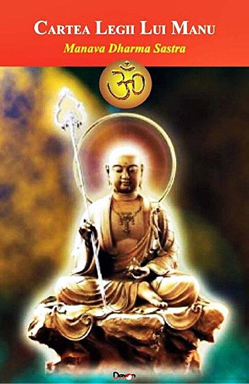 Coperta Carte Manava Dharma Sastra sau Cartea Legii lui Manu