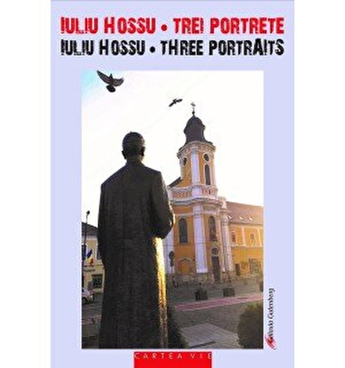 Coperta Carte Iuliu Hossu – Trei portrete/ Iuliu Hossu - Three Portraits, volum bilingv