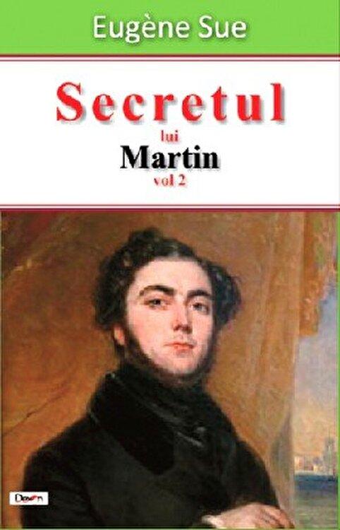 Coperta Carte Secretul lui Martin vol 2