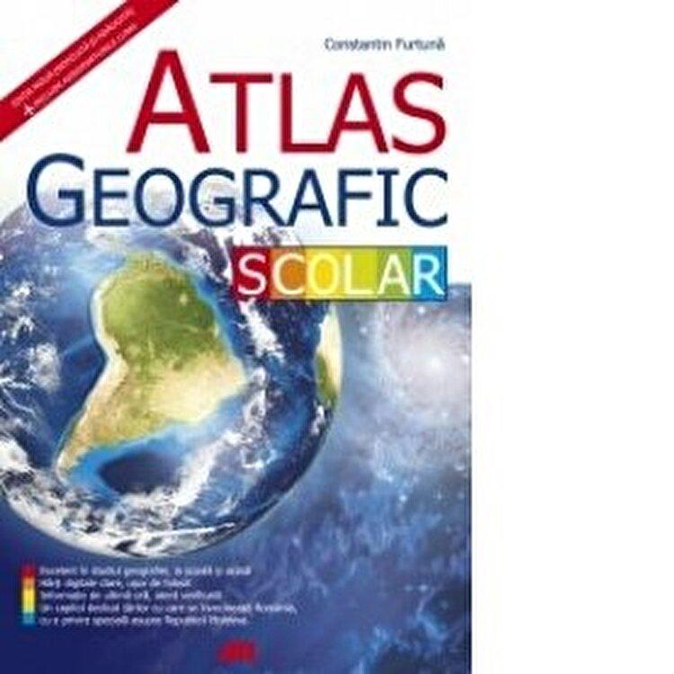 Coperta Carte Atlas geografic scolar