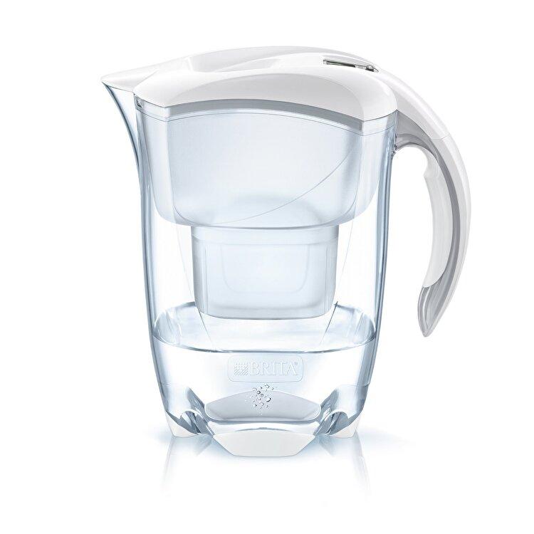 Cana filtranta Elemaris XL, Brita, 3.5 L, MAXTRA, BR1026430, plastic, Alb de la Brita