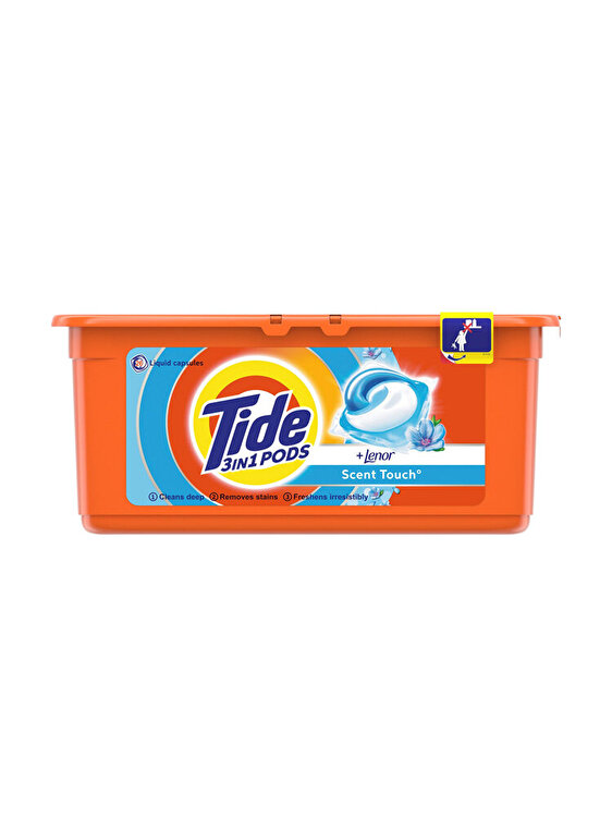 Detergent capsule Tide 3in1 PODs Touch Of Lenor 26 buc, 26 spalari de la TIDE